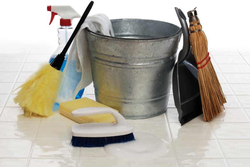 Greenwood apartment cleaning supplies